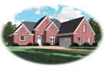 Traditional House Plan Front of Home - 087D-0590 | House Plans and More
