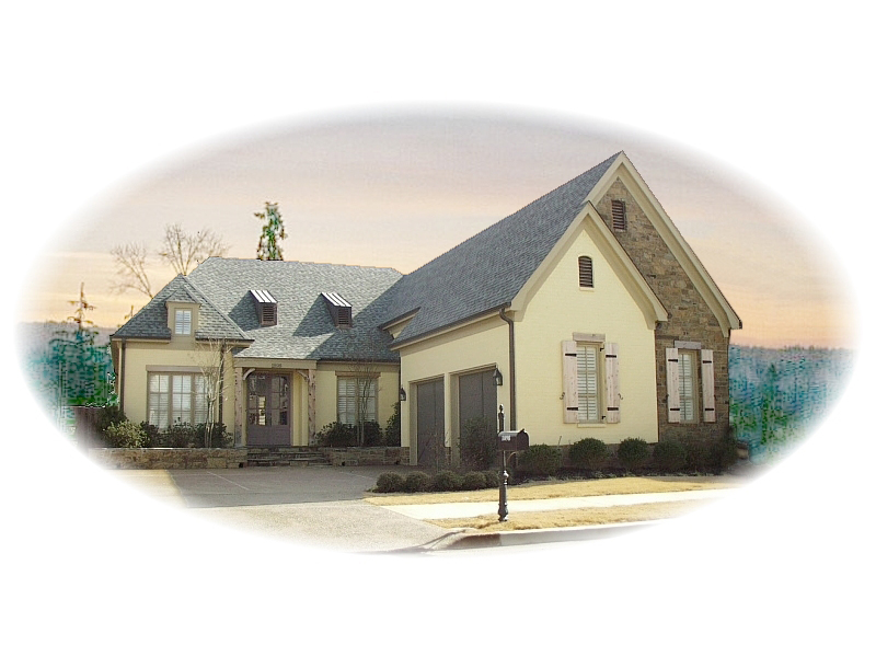 Country House Plan Front of Home - 087D-0598 | House Plans and More