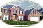 Traditional House Plan Front of Home - 087D-0606 | House Plans and More
