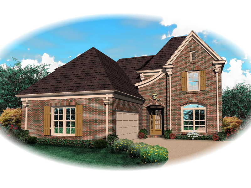 Traditional House Plan Front of Home - 087D-0620 | House Plans and More