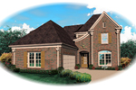 Country French Home Plan Front of Home - 087D-0620 | House Plans and More