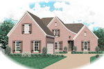 Traditional House Plan Front of Home - 087D-0629 | House Plans and More