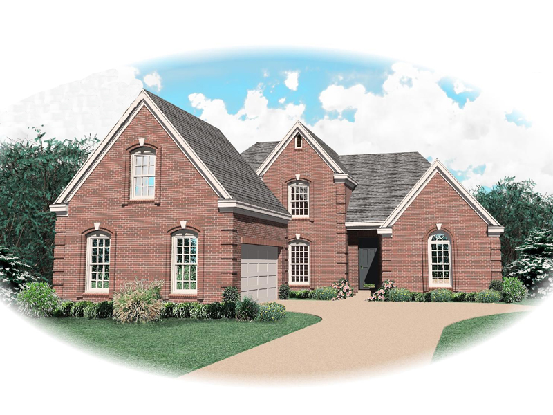 Traditional House Plan Front of Home - 087D-0630 | House Plans and More