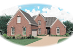 Greek Revival Home Plan Front of Home - 087D-0630 | House Plans and More