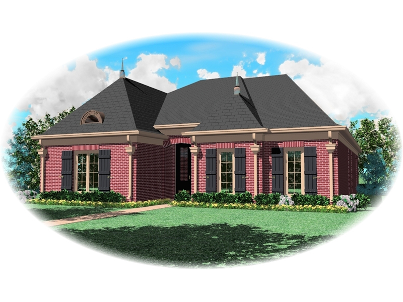 European House Plan Front of Home - 087D-0647 | House Plans and More