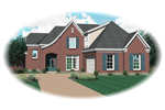 Traditional House Plan Front of Home - 087D-0648 | House Plans and More