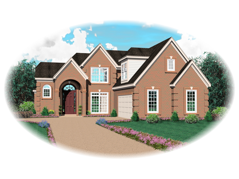 European House Plan Front of Home - 087D-0649 | House Plans and More