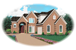 Traditional House Plan Front of Home - 087D-0649 | House Plans and More