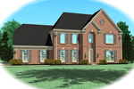 Colonial House Plan Front of Home - 087D-0651 | House Plans and More