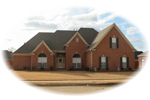 Southern House Plan Front of Home - 087D-0662 | House Plans and More