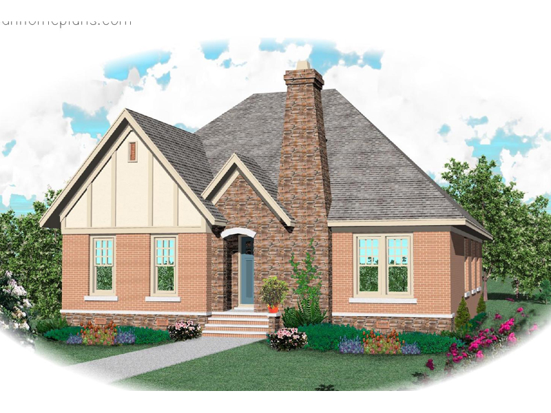 Craftsman House Plan Front of Home - 087D-0668 | House Plans and More