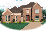 Traditional House Plan Front of Home - 087D-0677 | House Plans and More