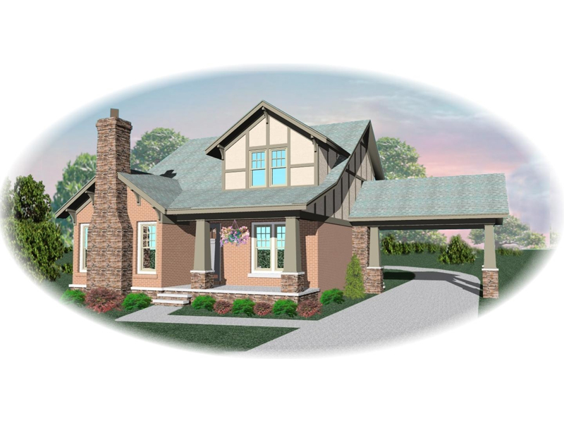 Craftsman House Plan Front of Home - 087D-0686 | House Plans and More