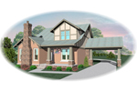 Arts and Crafts House Plan Front of Home - 087D-0686 | House Plans and More