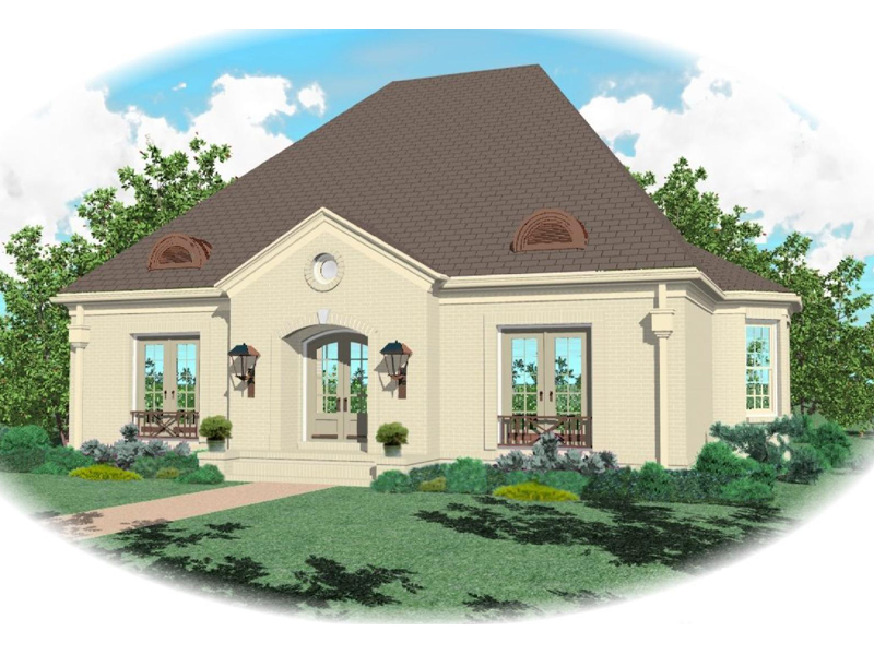 Luxury House Plan Front of Home - 087D-0692 | House Plans and More