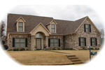 Rustic Home Plan Front of Home - 087D-0695 | House Plans and More