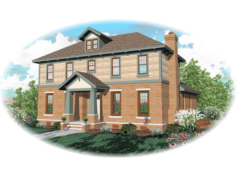 Arts And Crafts Home With Luxurious Style