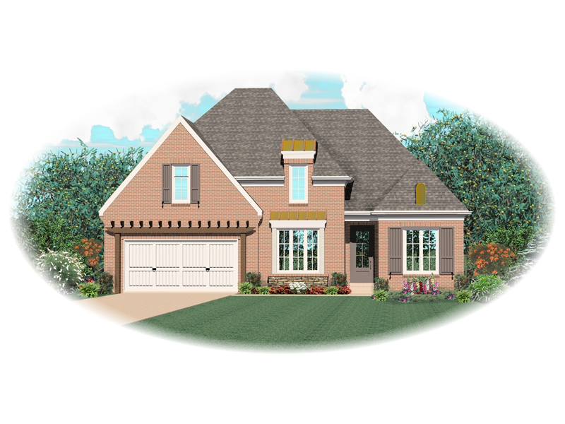 Southern House Plan Front of Home - 087D-0746 | House Plans and More