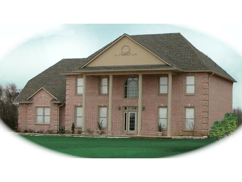 Southern Plantation Plan Front of Home - 087D-0750 | House Plans and More
