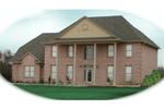 Southern Plantation House Plan Front of Home - 087D-0750 | House Plans and More