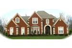 European House Plan Front of Home - 087D-0753 | House Plans and More