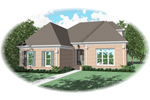 Luxury House Plan Front of Home - 087D-0756 | House Plans and More