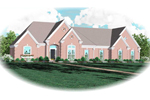 European House Plan Front of Home - 087D-0757 | House Plans and More