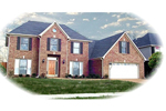 Southern House Plan Front of Home - 087D-0763 | House Plans and More