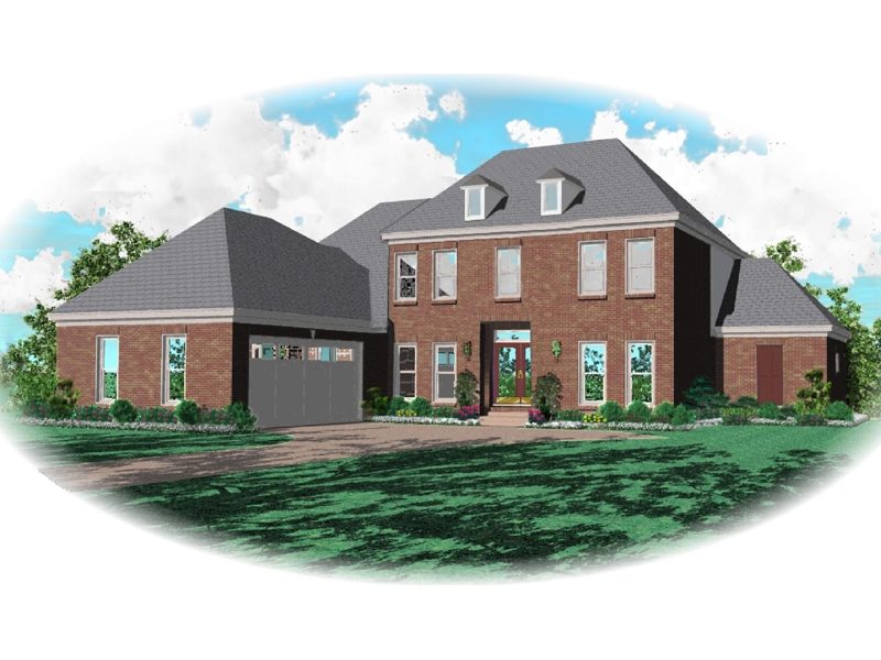 Southern Plantation Plan Front of Home - 087D-0764 | House Plans and More