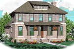 Craftsman House Plan Front of Home - 087D-0767 | House Plans and More
