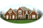 Traditional House Plan Front of Home - 087D-0769 | House Plans and More