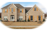 European House Plan Front of Home - 087D-0776 | House Plans and More