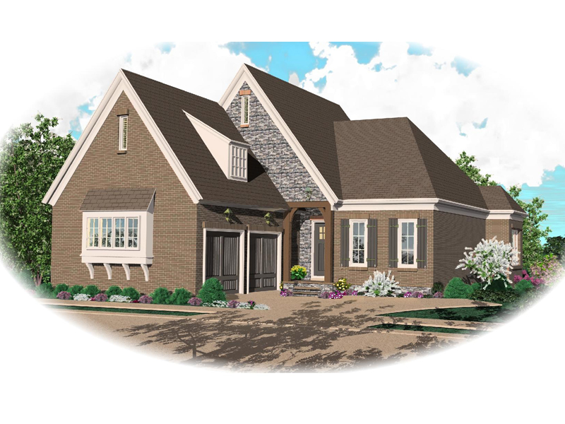 Luxury House Plan Front of Home - 087D-0782 | House Plans and More