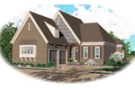 English Tudor House Plan Front of Home - 087D-0782 | House Plans and More