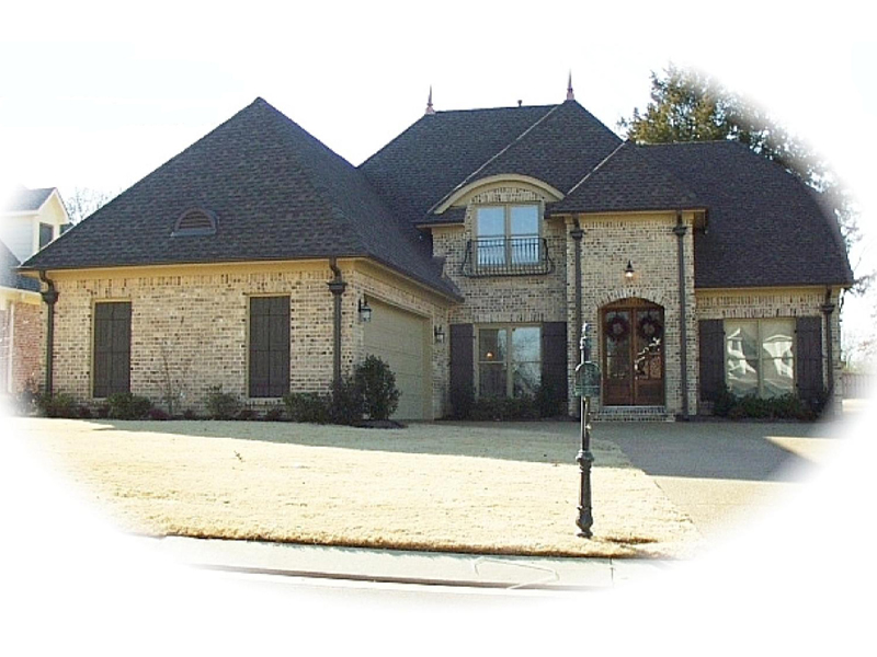 Country French House Plan Front of Home - 087D-0785 | House Plans and More