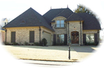 Country French Home Plan Front of Home - 087D-0785 | House Plans and More