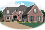 European House Plan Front of Home - 087D-0793 | House Plans and More