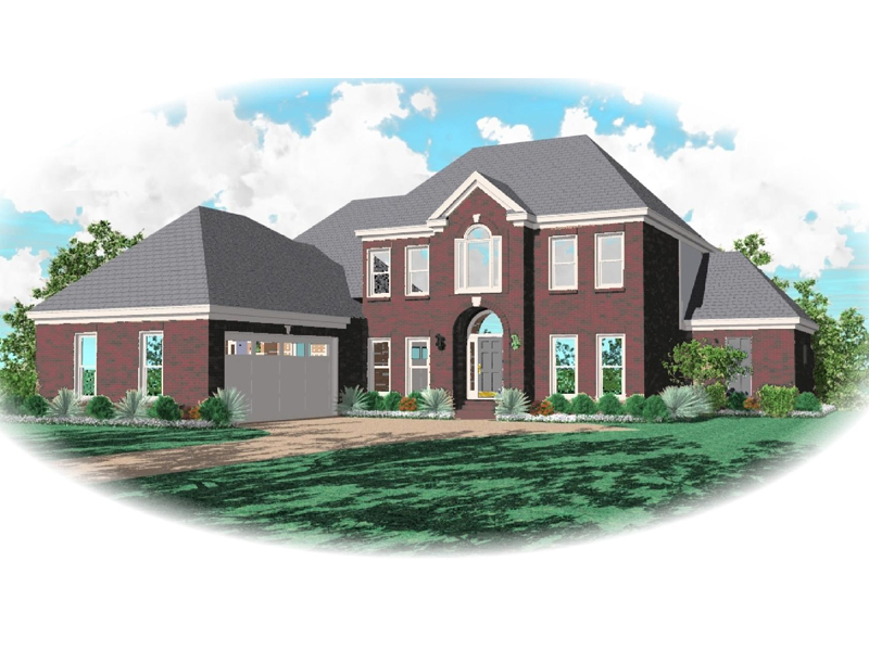 Country House Plan Front of Home - 087D-0798 | House Plans and More