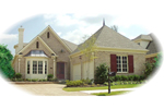 Traditional House Plan Front of Home - 087D-0800 | House Plans and More
