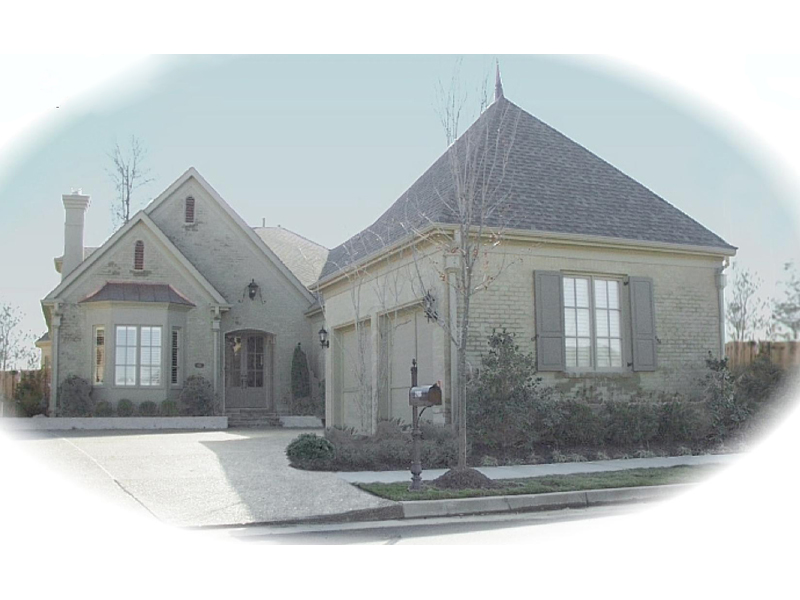 European House Plan Front of Home - 087D-0801 | House Plans and More