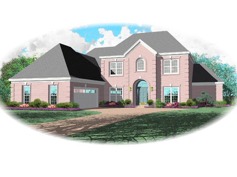 European House Plan Front of Home - 087D-0803 | House Plans and More