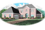 Southern House Plan Front of Home - 087D-0803 | House Plans and More