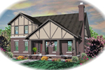 Arts and Crafts House Plan Front of Home - 087D-0804 | House Plans and More