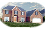 Southern House Plan Front of Home - 087D-0809 | House Plans and More