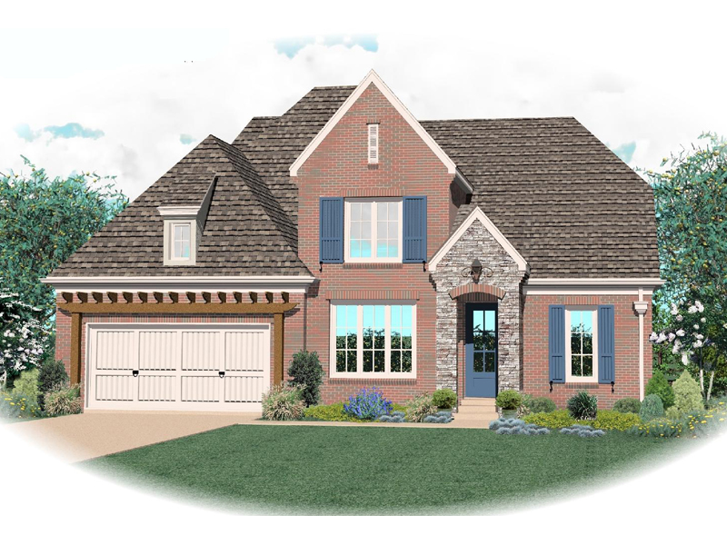 Country House Plan Front of Home - 087D-0811 | House Plans and More