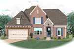 Traditional House Plan Front of Home - 087D-0811 | House Plans and More