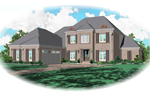 Greek Revival Home Plan Front of Home - 087D-0814 | House Plans and More