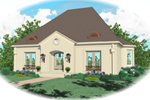 European House Plan Front of Home - 087D-0818 | House Plans and More