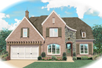 Luxury House Plan Front of Home - 087D-0833 | House Plans and More