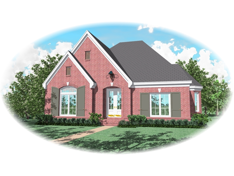 Traditional House Plan Front of Home - 087D-0836 | House Plans and More